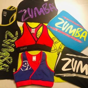🔥2 for 1🔥 Zumba Sports Bras Size XS (I ❤️ Zumba)